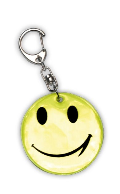 Reflective Pendant (smiley)