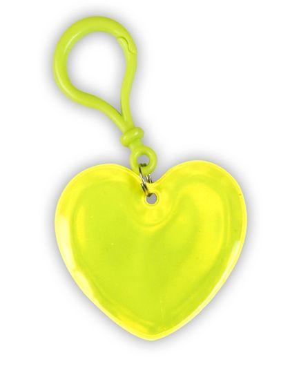 Reflective Pendant (heart)