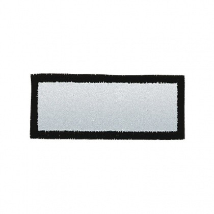 Reflective Iron-On Patch (rectangle)