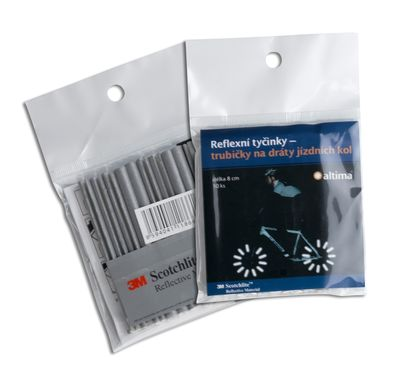 Reflective Spokes for the Bicycle Wheels (pack of 10)