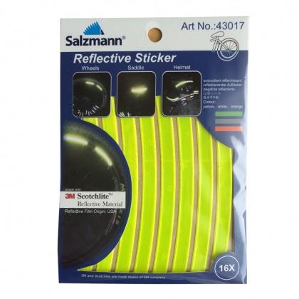 Reflective Bike Stickers (yellow)
