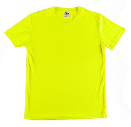 Sports T-shirt for Men (fluorescent yellow, XS-2XL)