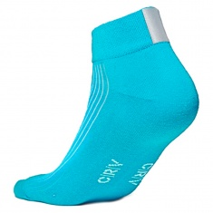 Reflective socks, BLUE