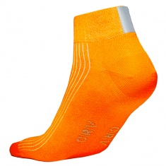 Reflective socks, ORANGE