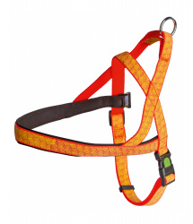 Reflective harness for dogs – ORANGE