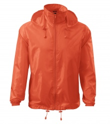 Cagoule Jacket (fluorescent orange, S-XXL, unisex)