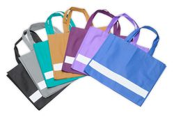 Reflective bag, light purple