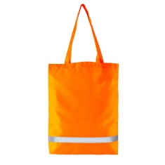 Reflective Shopping Bag (orange)
