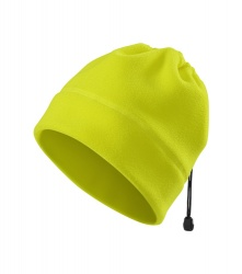Fleece Hat/Neck Warmer (fluorescent yellow)