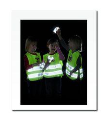 Child Reflective Safety Vest with Imprint (XS)