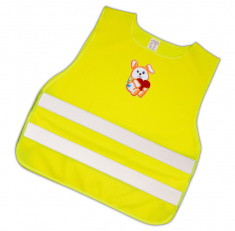 Child Reflective Safety Vest (doggy with red heart)
