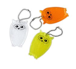 Pendant Reflector (orange owl)