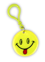 Reflective Pendant (smiley sticking out tongue)