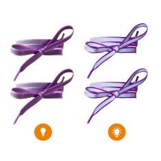 Reflective Shoe Laces (purple)