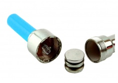 LED Flashing Bike Valves (blue)