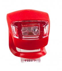 LED Flashing Blinker Light for Bike (white & red)