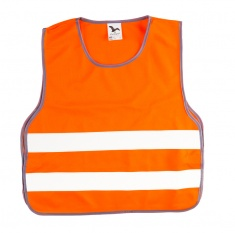 Child Reflective Safety Vest (orange, S)