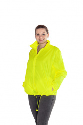 Cagoule Jacket (fluorescent yellow, S-XXL, unisex)