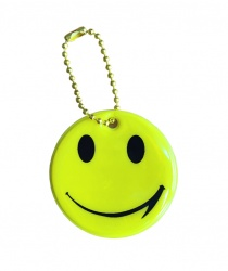 3M Reflective Pendant (yellow smiley)