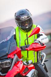 Reflective Safety Vest for Motobikers (M-XXL)