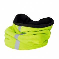 Reflective Fleece Neck Warmer (yellow)