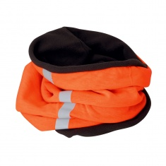 Reflective Fleece Neck Warmer (orange)