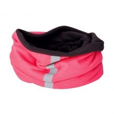 Reflective Fleece Neck Warmer (pink)