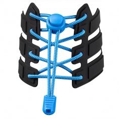 Reflective Elastic Shoe Laces (blue)