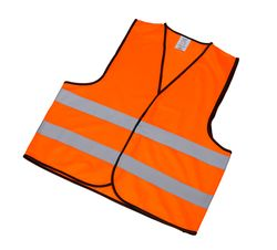 Reflective Safety Vest for Adults (orange, XL)