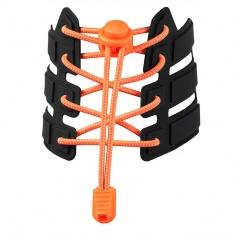 Reflective Elastic Shoe Laces (fluorescent orange)