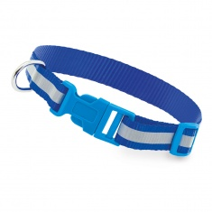Reflective Dog Collar (light blue)