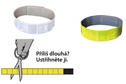 3M Reflective Armband with Velcro (yellow)