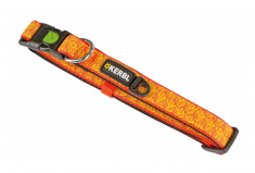 Reflective Dog Collar (orange)