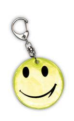 Reflective Pendant (smiley)