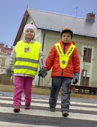 V-Shaped Reflective Vest for Children & Adults