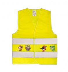 Child Reflective Safety Vest with Imprint (XS)