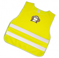 Child Reflective Safety Vest (monkey)