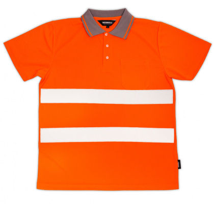 Reflective T-shirt for Adults (orange M-XXL)