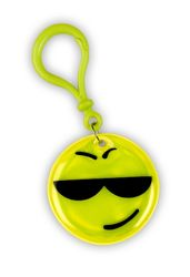 Reflective Pendant (smiley with sunglasses)