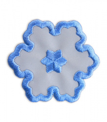 Reflective Iron-On Patch (snowflake)