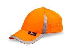 Cap with Reflective Stripe for Adults (orange)