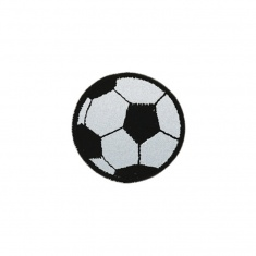 Reflective Iron-On Patch (ball)