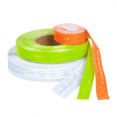 Reflective Self-Adhesive PVC Tape (orange)