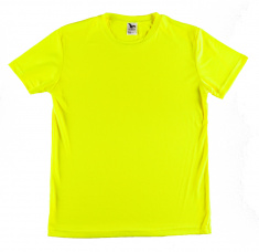 Sports T-shirt for Ladies (fluorescent yellow XS-XL)