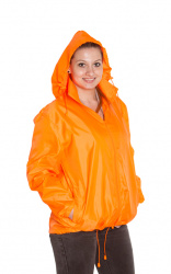 Cagoule Jacket (fluorescent orange S-XXL unisex)