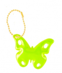 3M Reflective Pendant (yellow butterfly)