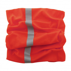 Reflective Scarf/Neck Warmer (red)