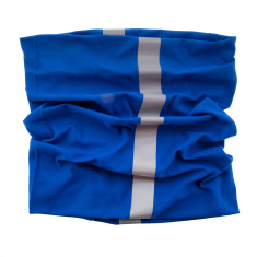 Reflective Scarf/Neck Warmer (blue)