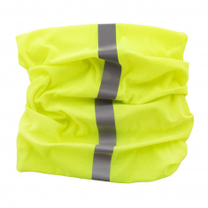 Reflective Scarf/Neck Warmer (yellow)