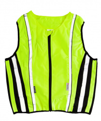 Reflective Safety Vest for Motobikers (M-XXL)